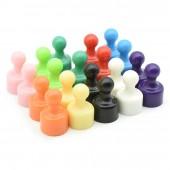 Офисные магниты для доски D12x19 всех цветов