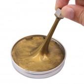 Умный магнитный пластилин золотой