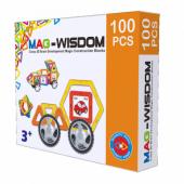 Магнитный конструктор Mag-Wisdom 100 деталей