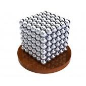 НеоКуб 6мм (серебряный), 216 элементов
