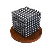 Куб из магнитных шариков 5 мм, стальной