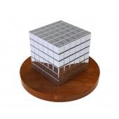 ТетраКуб 3мм (серебряный), 125 элементов
