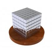 Тетракуб 5 мм (серебряный), 125 элементов