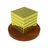 Тетракуб 5 мм (золотой), 125 элементов